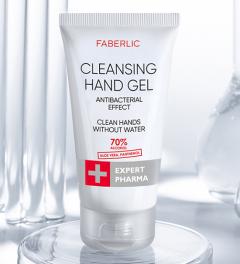 Käte puhastusgeel aaloega