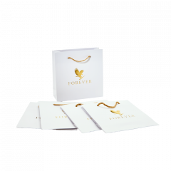Small Gold Gift Bag