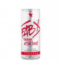 Forever FAB X Zero Calorie energy drink - Aloe.ee